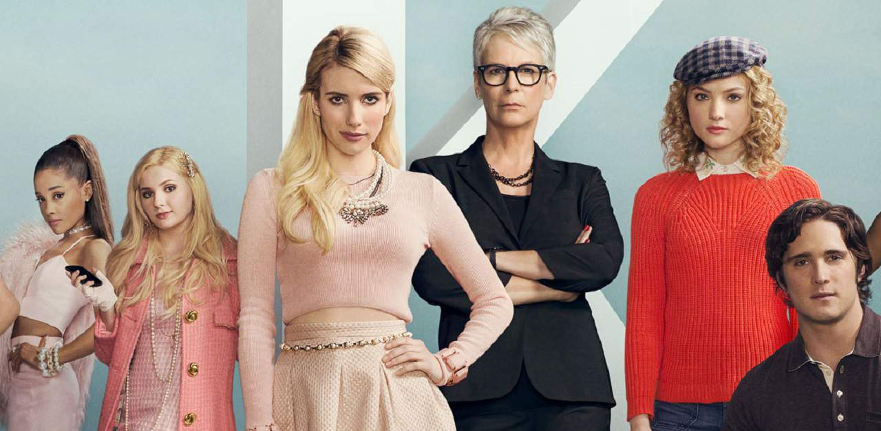 SCREAM QUEENS Season 3 - Jamie Lee Curtis & Emma Roberts All In For SCREAM QUEENS Revival