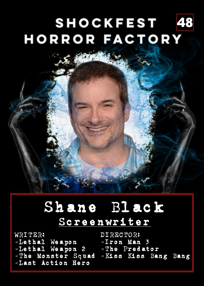 Shockfest Card 48 Shane Black - MOCKFEST FILM FIGHT Taking Place at SHOCKFEST 2019 This Weekend!