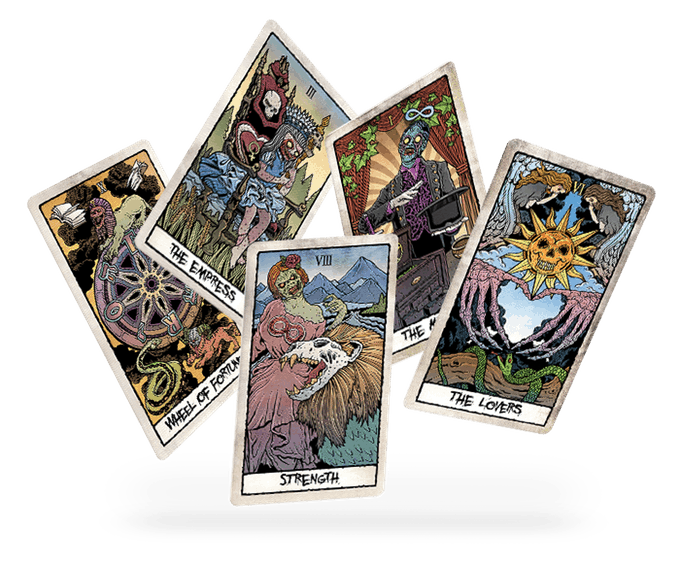 Tarot - 1 More Day to Support THE BEAUTY OF HORROR Tarot Card Set