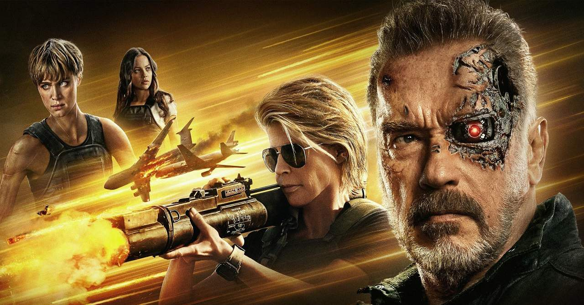 Terminator Dark Fate second weekend drop - TERMINATOR: DARK FATE Has Huge Second Weekend Drop
