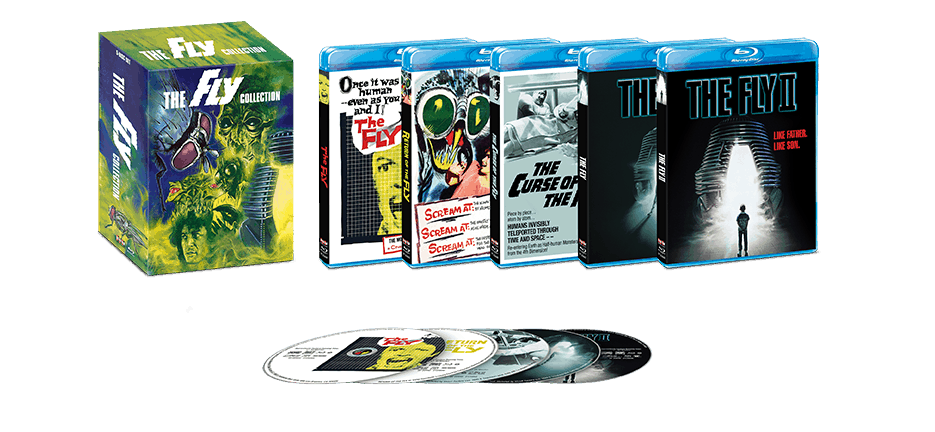 Massive THE FLY COLLECTION 5-Film Blu-ray Set from Scream Factory Arrives December 10th - Dread Central