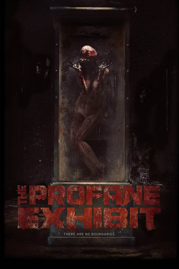 The Profane Exhibit Poster - NSFW Trailer for THE PROFANE EXHIBIT Will Haunt Your Nightmares