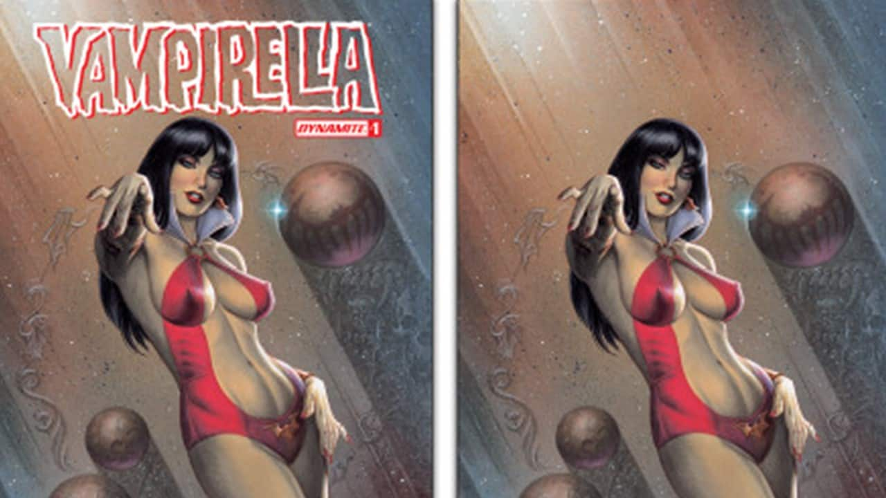Vampirella Banner - Support Joseph Michael Linsner's Vampirella Indiegogo; Limited Exclusive Vampirella Cover Available Now!