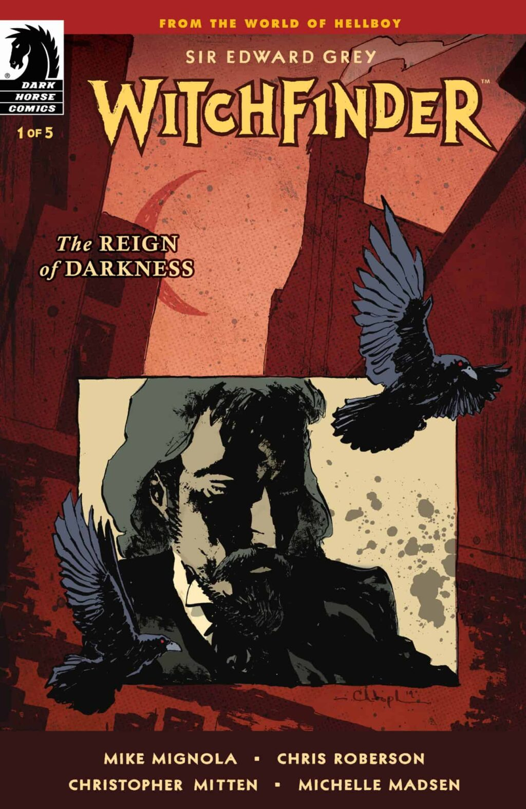 WFROD i1 CVR 4x6 1024x1575 - Exclusive Preview: Jack the Ripper Haunts the Pages of WITCHFINDER: REIGN OF DARKNESS