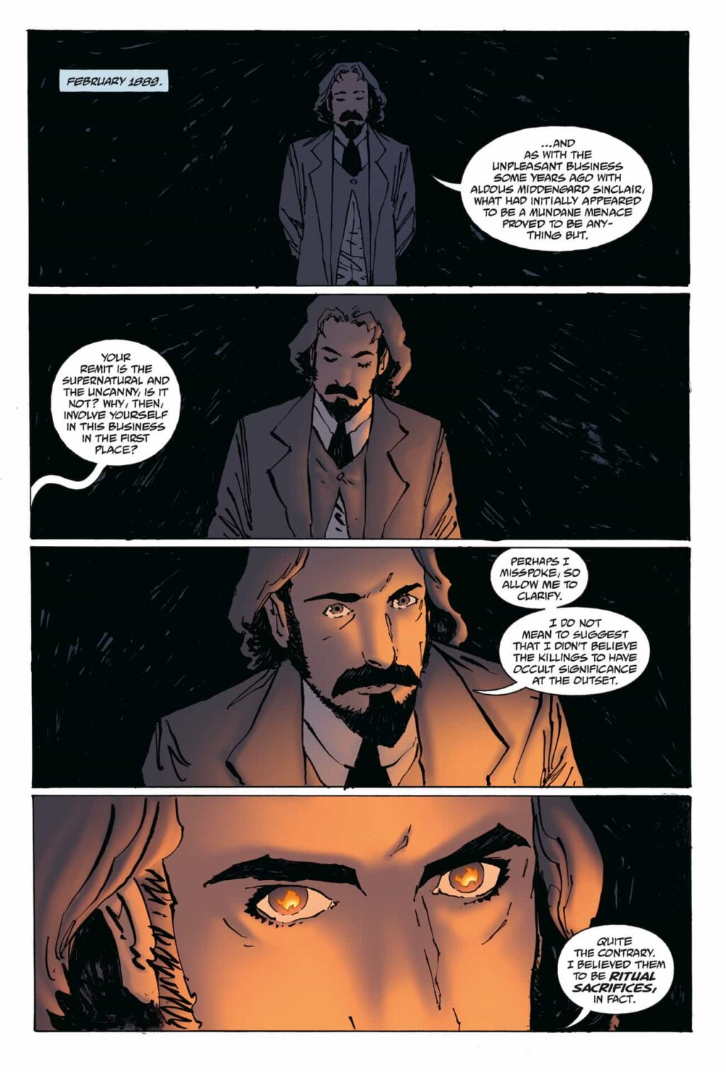 WFROD i1 PG 01 1024x1512 - Exclusive Preview: Jack the Ripper Haunts the Pages of WITCHFINDER: REIGN OF DARKNESS