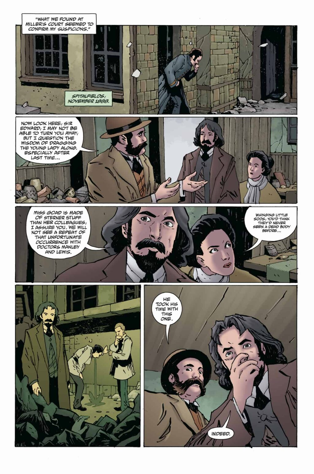 WFROD i1 PG 02 1024x1546 - Exclusive Preview: Jack the Ripper Haunts the Pages of WITCHFINDER: REIGN OF DARKNESS