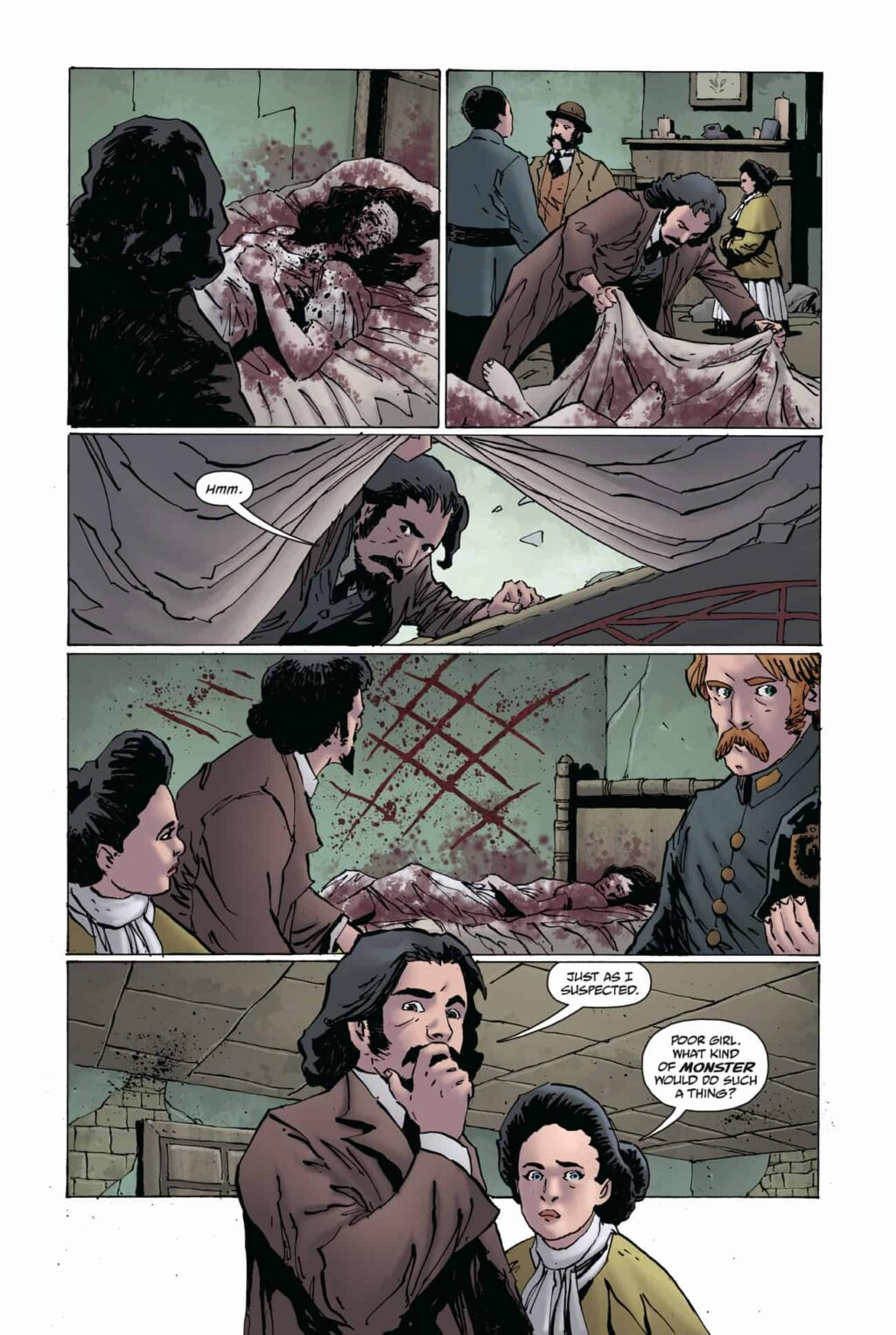WFROD i1 PG 03 1024x1525 - Exclusive Preview: Jack the Ripper Haunts the Pages of WITCHFINDER: REIGN OF DARKNESS