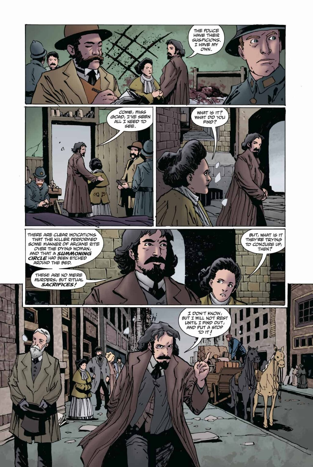 WFROD i1 PG 04 1024x1525 - Exclusive Preview: Jack the Ripper Haunts the Pages of WITCHFINDER: REIGN OF DARKNESS