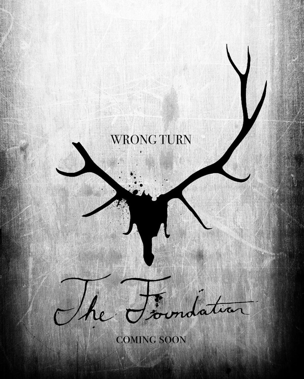 Wrong Turn The Foundation poster 1024x1279 - WRONG TURN Reboot Poster Reveals New Title