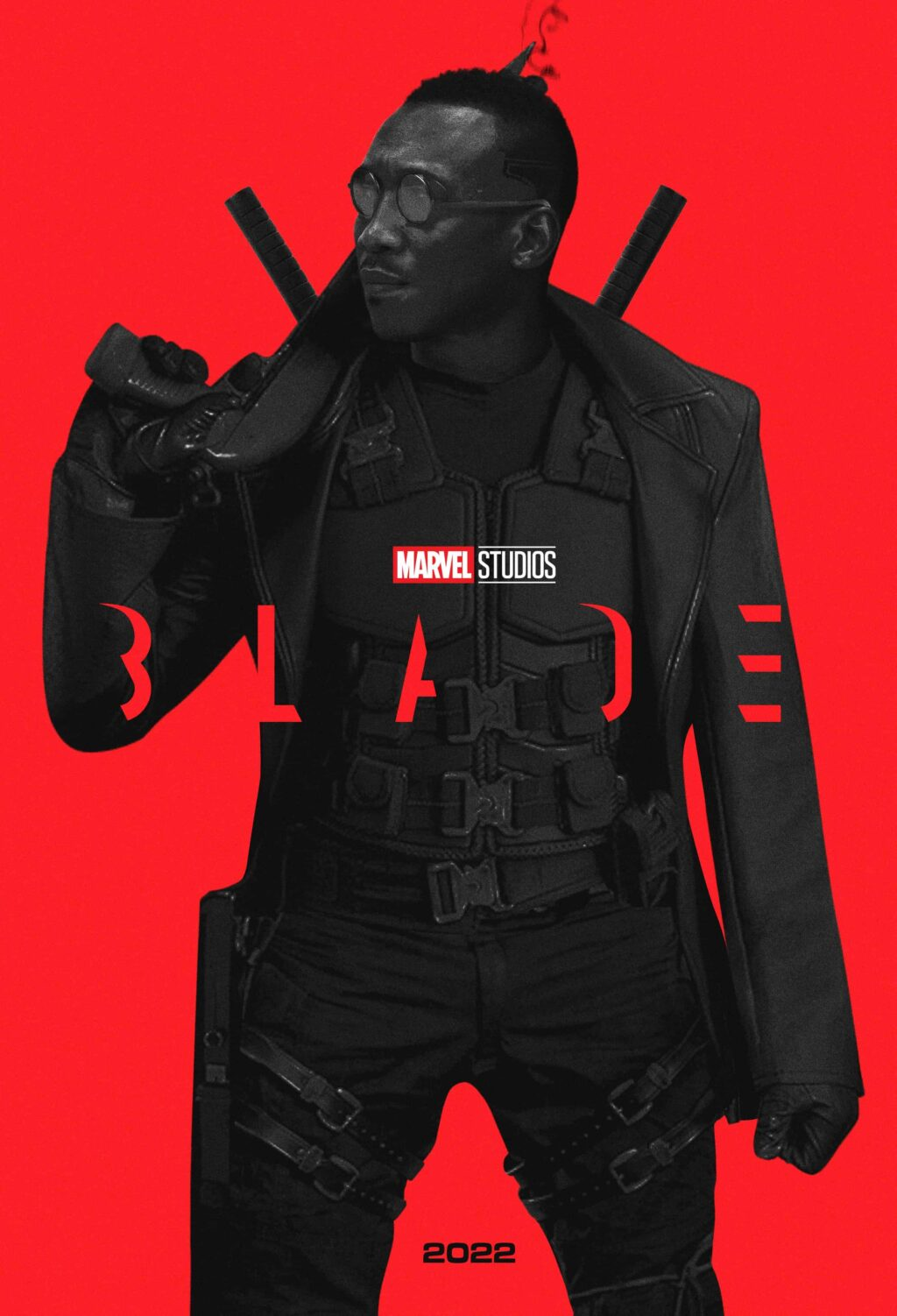 blade mahershala ali fan poster 1024x1502 - Jared Leto's MORBIUS May Appear in BLADE Reboot