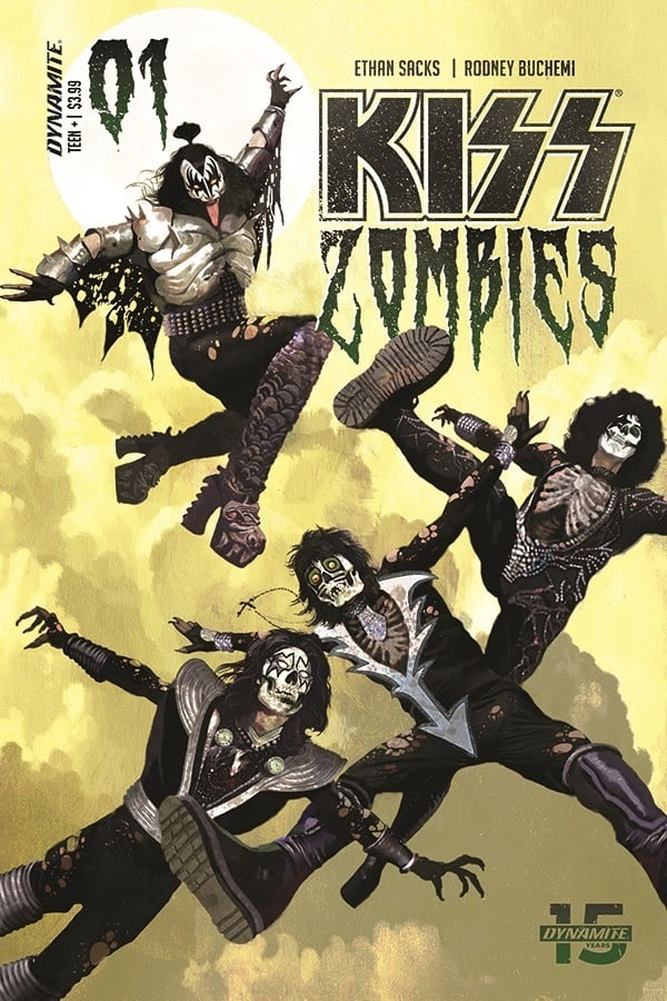 kiss1 - KISS, VAMPIRELLA, RED SONJA & More Available Today from Dynamite