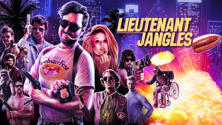 lieutenant jangles film poster 1 750x422 - LIEUTENANT JANGLES Review - A Crass And Hilarious Throwback To '80s Action Cinema