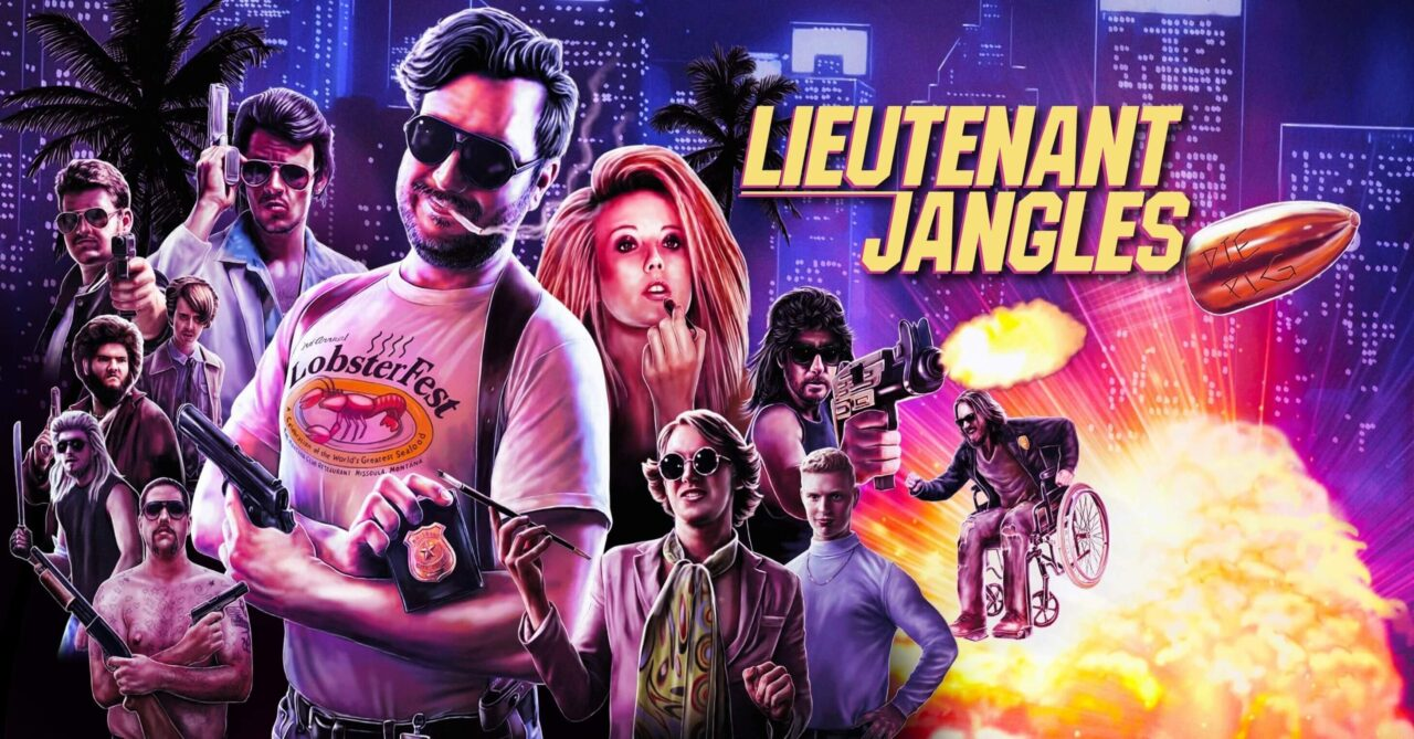lieutenant jangles film poster 1 scaled - LIEUTENANT JANGLES Review - A Crass And Hilarious Throwback To '80s Action Cinema