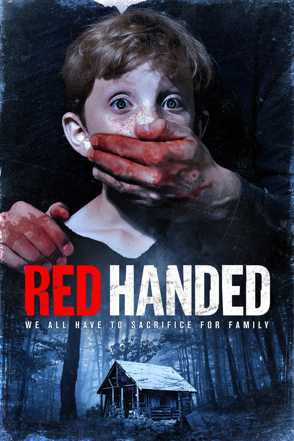 red handed poster 1024x1536 - Trailer: Kidnapping Caper Takes a Satanic Twist in RED HANDED