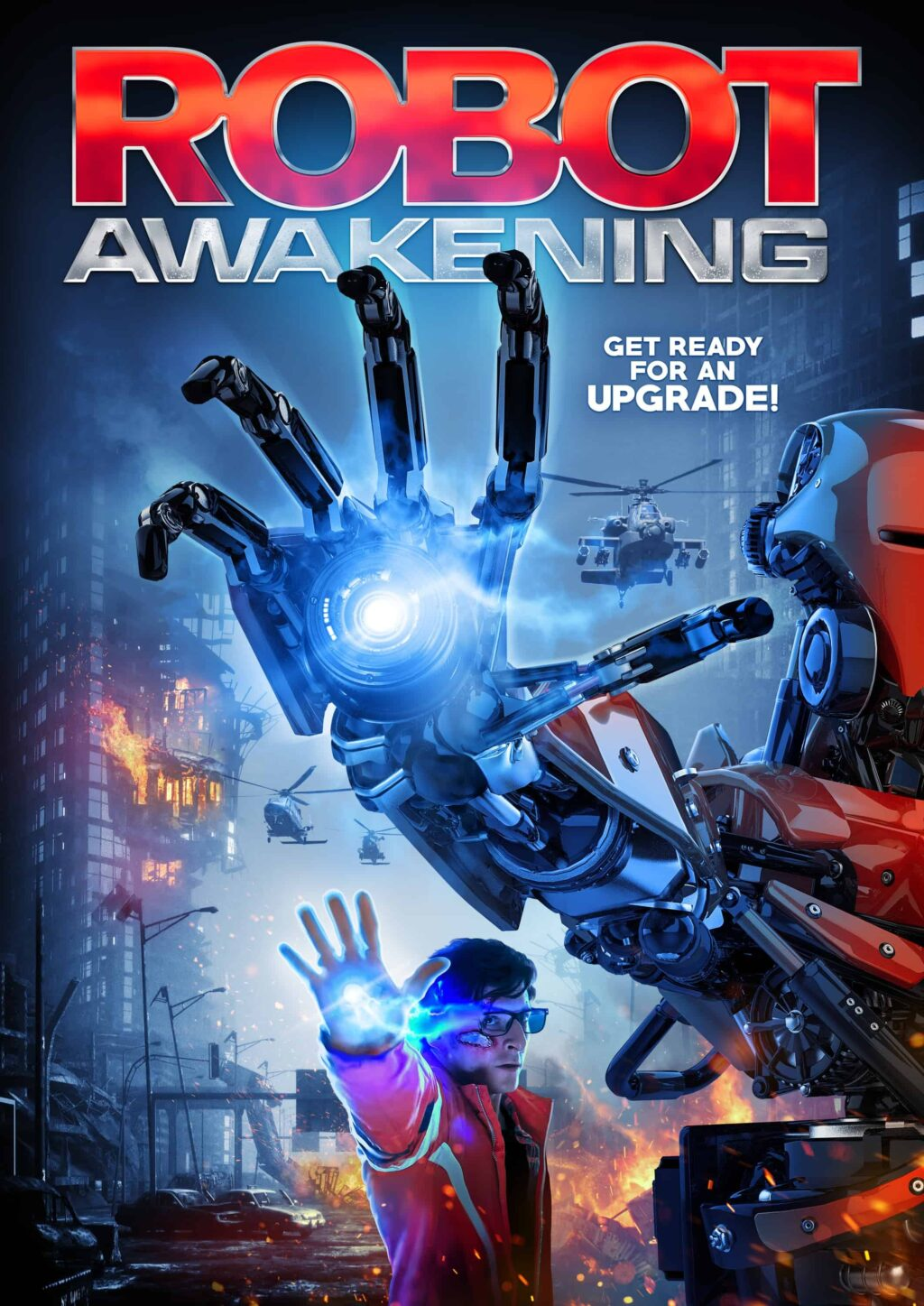 robot awak poster 1024x1447 - Trailer: Nerd Realizes He's Actually a Powerful Cyborg in Hysterical Horror-Comedy ROBOT AWAKENING