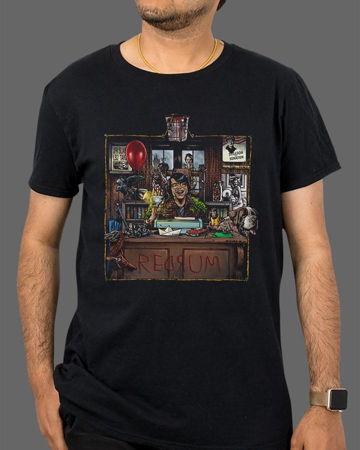02124 KingOfHorror 1024x1024 - Dread Central's Gift Guide: Tee Shirts