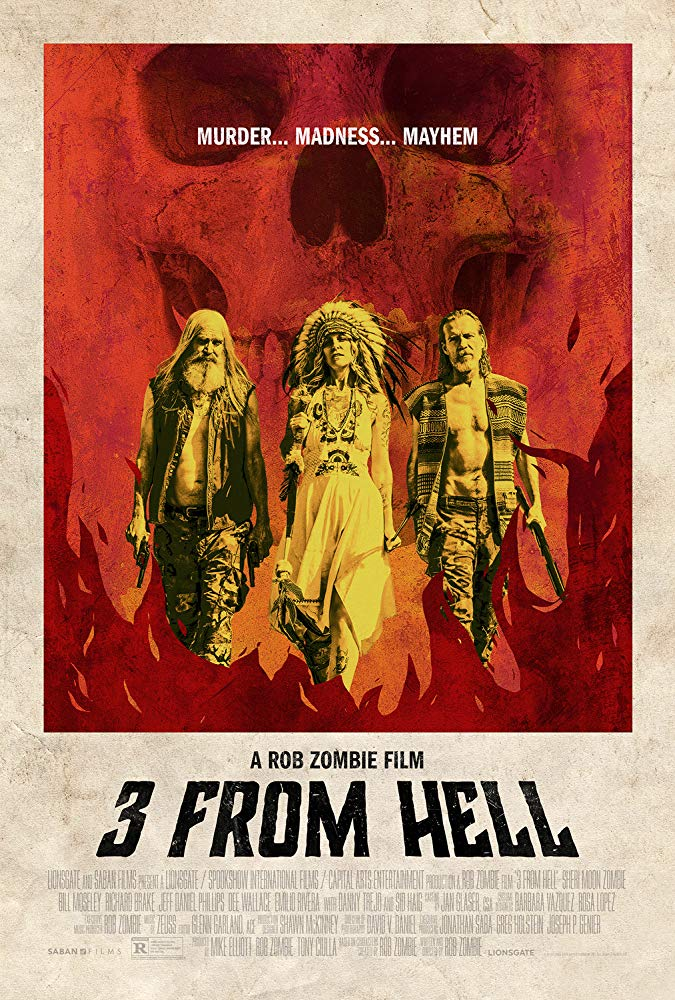 3 FROM HELL poster - Michelle Swope's Top 10 Horror Movies of 2019