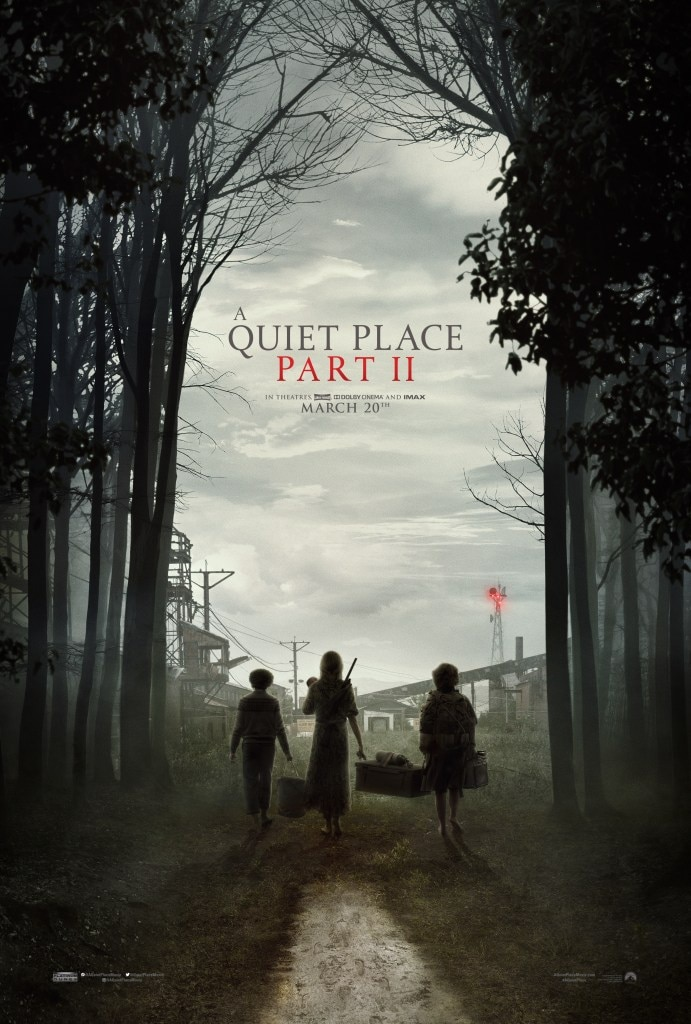 A QUIET PLACE PART II Poster DC - Ryan Reynolds Praises A QUIET PLACE: PART II Trailer