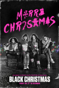 Black Christmas poster DC 202x300 - BLACK CHRISTMAS (2019) Review--A Horror-Filled Middle Finger Call for the Declaration of Sentiments