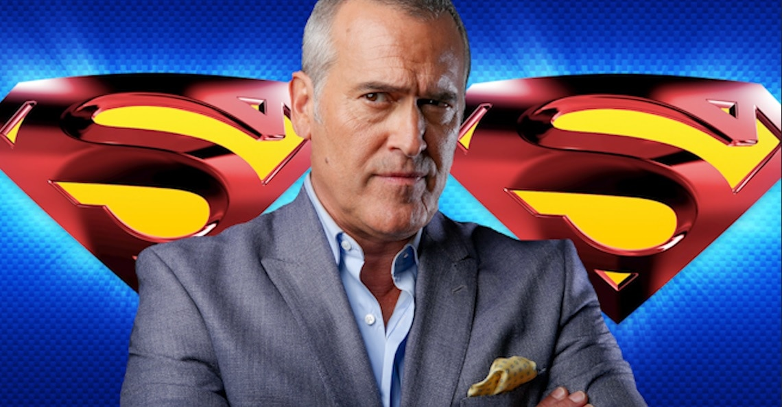 Bruce Campbell Volunteers To Play Superman - Bruce Campbell Volunteers To Be Next Superman