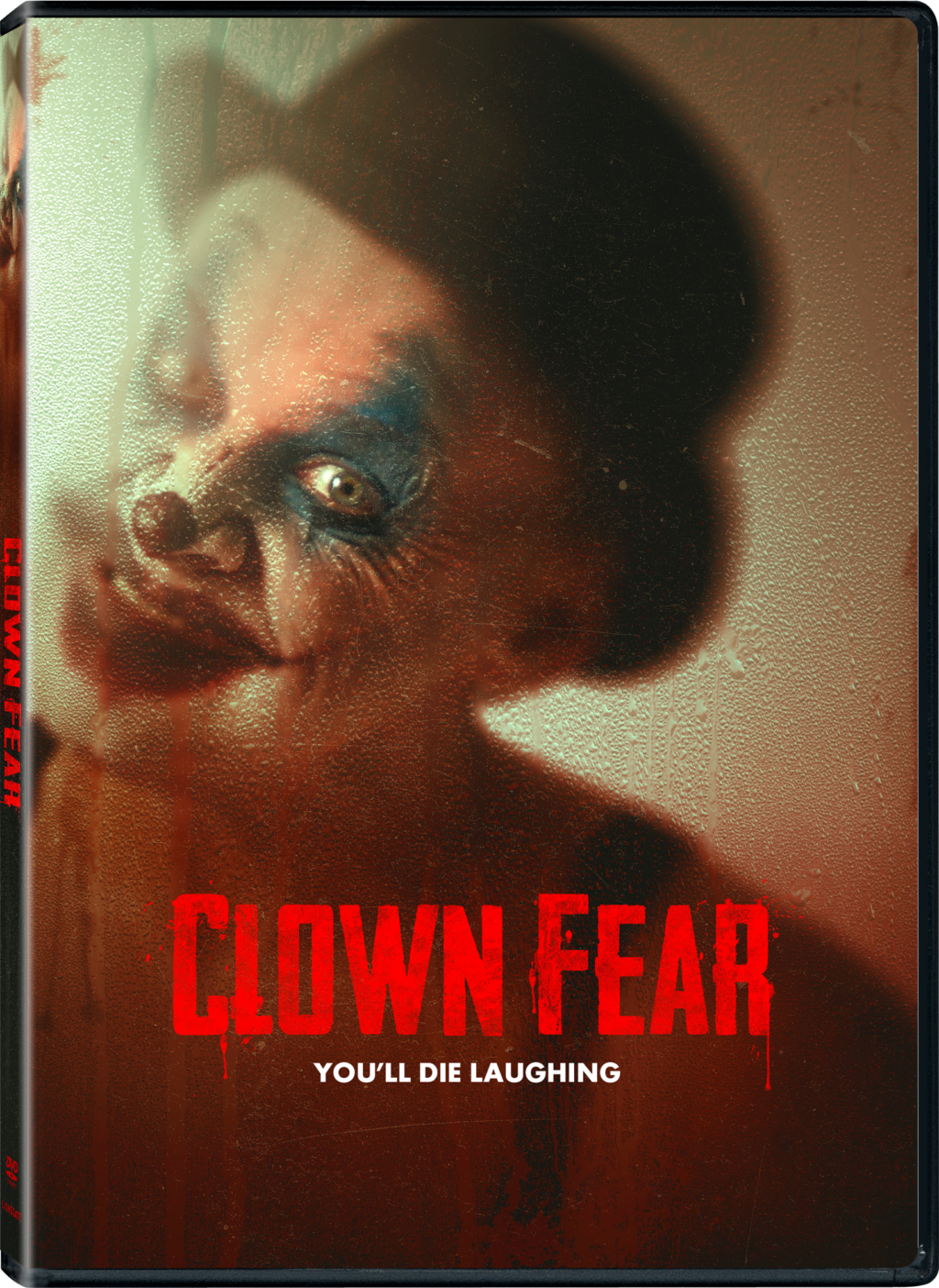 "CLOWN FEAR 3D DVD 1024x1404 - ""Outsider"" Meets Cruel Fate in Our Exclusive Clip from CLOWN FEAR"