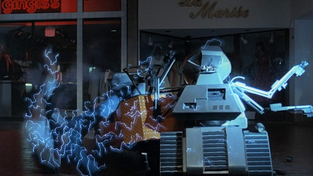 Chopping Mall 1024x576 - Dread X: AUTOMATION Director Garo Setian's Top 10 Lesser-Known Robots of Horror