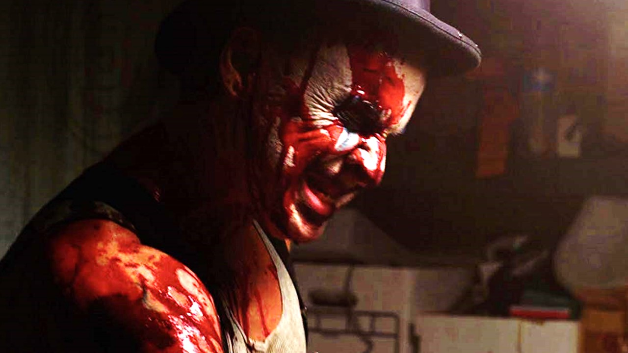 "Clown Fear Banner - ""Outsider"" Meets Cruel Fate in Our Exclusive Clip from CLOWN FEAR"