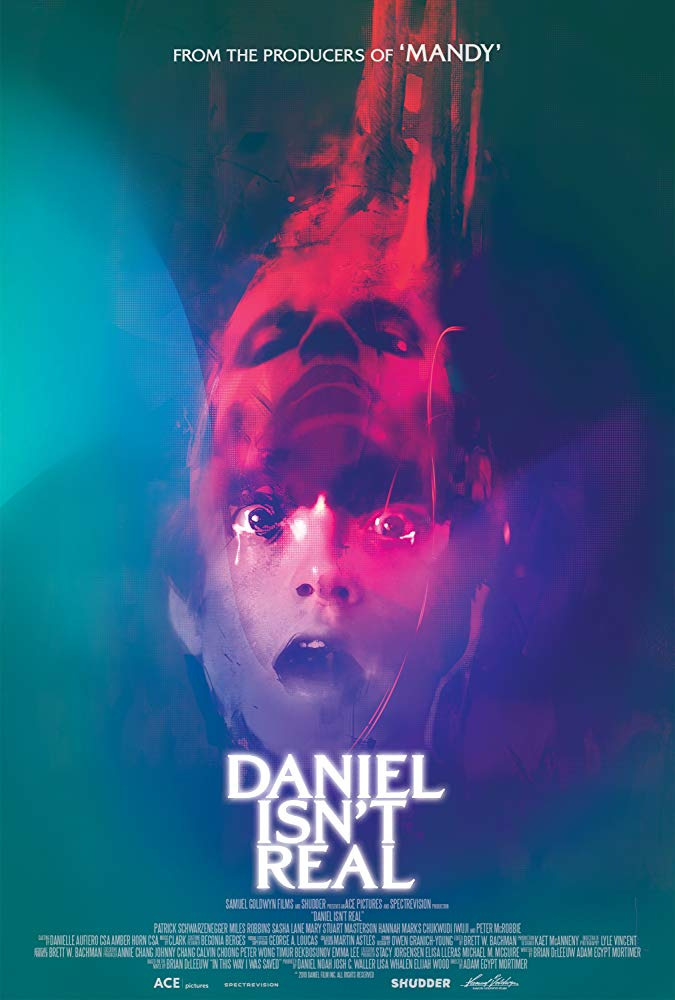 DANIEL ISNT REAL poster - Michelle Swope's Top 10 Horror Movies of 2019