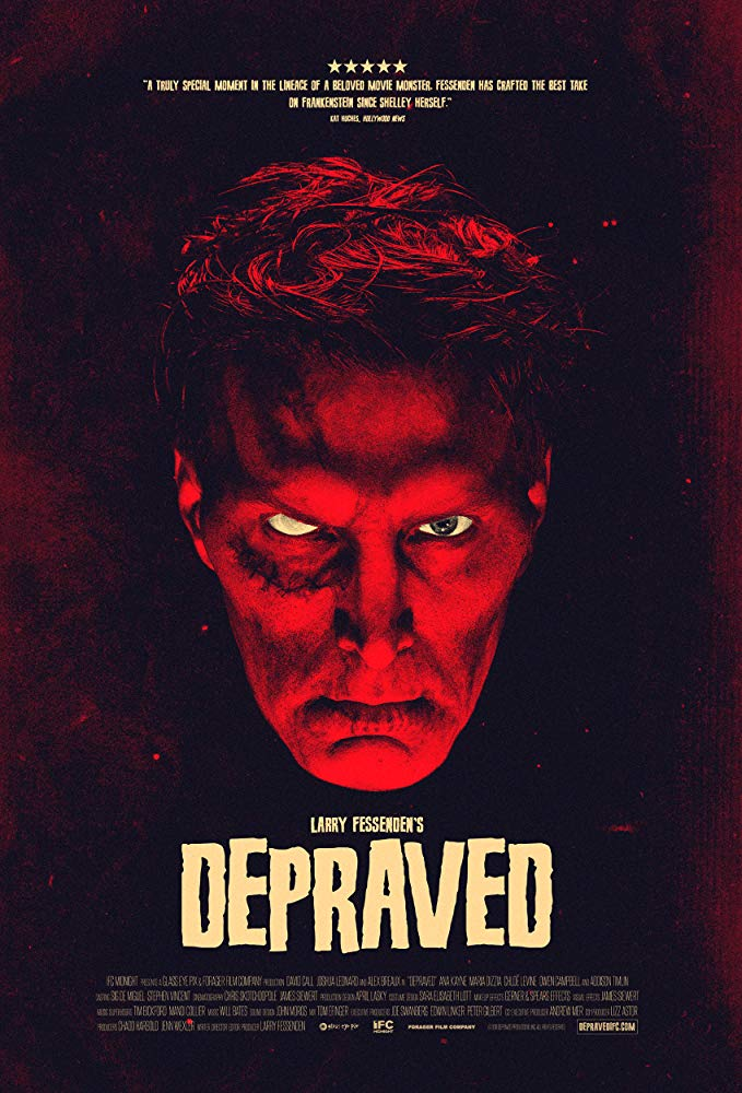 DEPRAVED poster - Michelle Swope's Top 10 Horror Movies of 2019