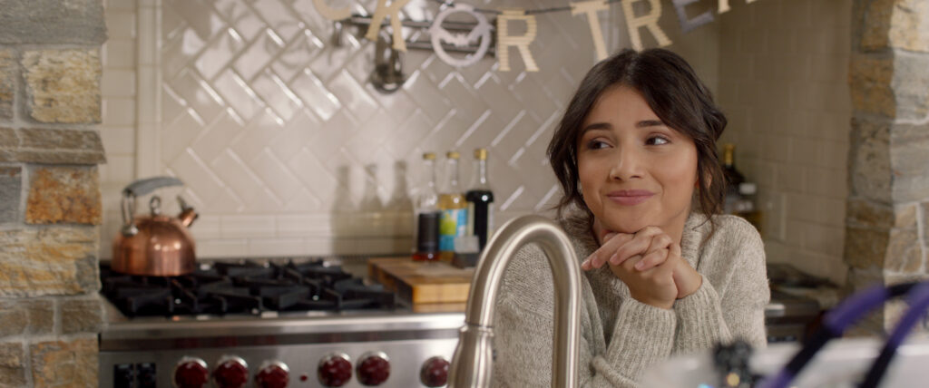 DNR Amanda Arcuri Playing Chelsea in Kitchen 1024x428 - Exclusive Clip from DO NOT REPLY at NYC Horror Film Fest This Week
