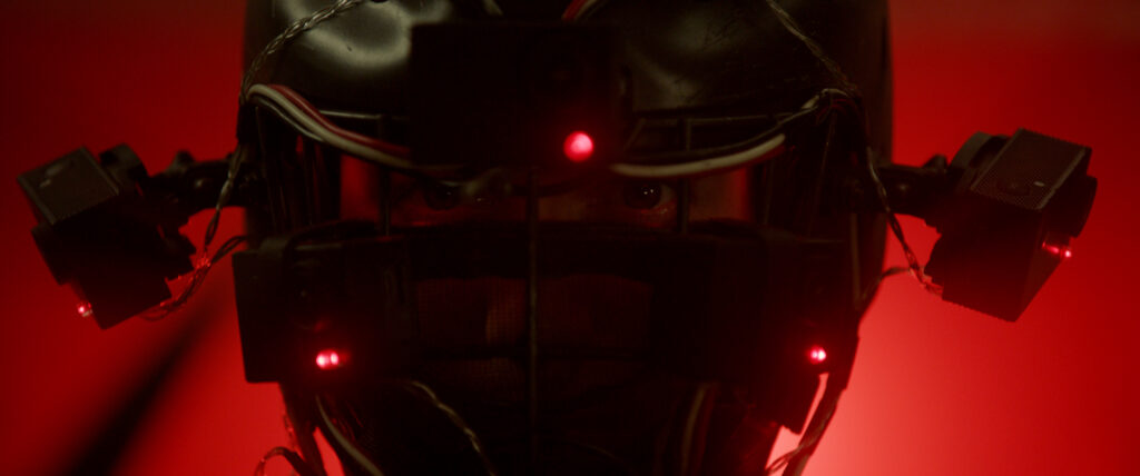DNR Jackson Rathbone Playing Brad VR Helmet Red Light 1024x428 - Exclusive Clip from DO NOT REPLY at NYC Horror Film Fest This Week