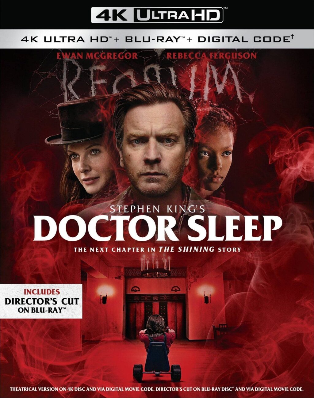 DOCTOR SLEEP Bl ray DC 1024x1298 - Stephen King's DOCTOR SLEEP Now Streaming on HBO Max