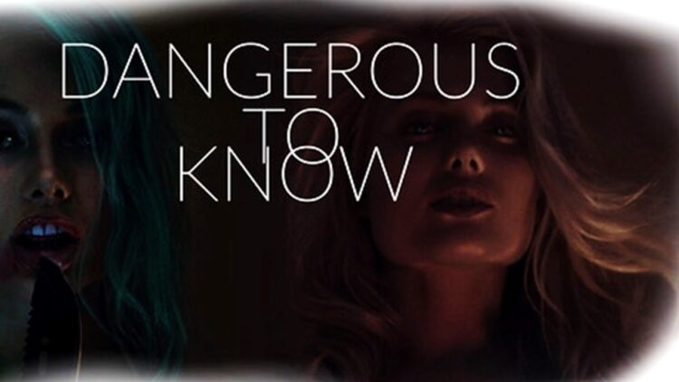 Dangerous to Know Banner 750x422 - DOCTOR SLEEP Director Backed Kickstarter Movie Unaware Film Character Was Named in His Honor
