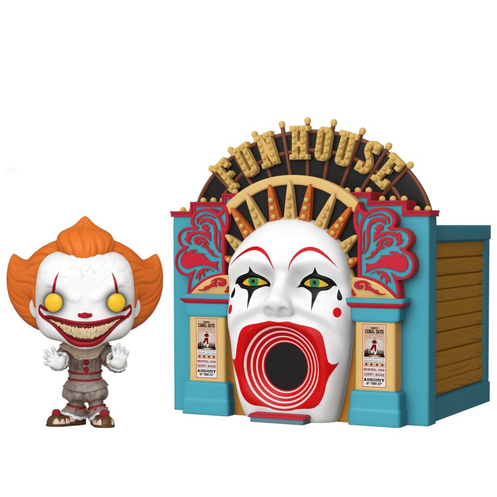 Demonic Pennywise with Funhouse POP 1024x1024 - Funko IT 2 Figures: King's Cameo, Meltdown Pennywise & More