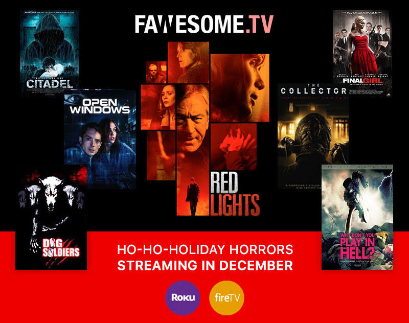 Fawsome Horror - Fawesome.TV Announce Ho-Ho-Horror Titles Streaming This Month