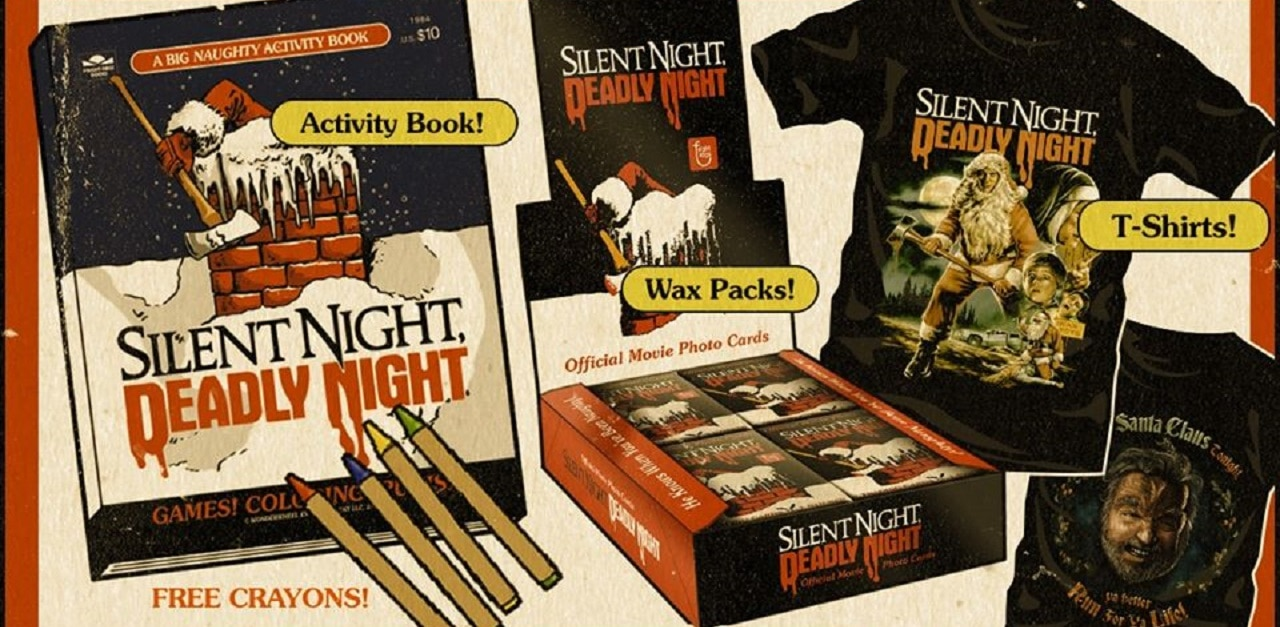 Fright Rags SILENT NIGHT DEADLY NIGHT Collection HD - Fright-Rags' SILENT NIGHT DEADLY NIGHT Collection Now Available