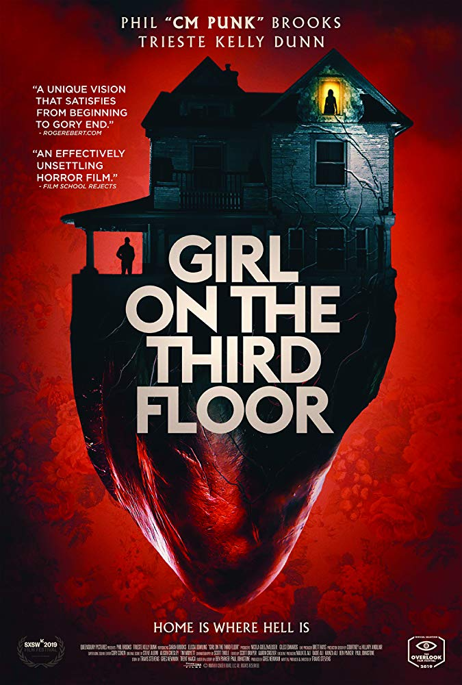 GIRL ON THE THIRD FLOOR poster - Michelle Swope's Top 10 Horror Movies of 2019