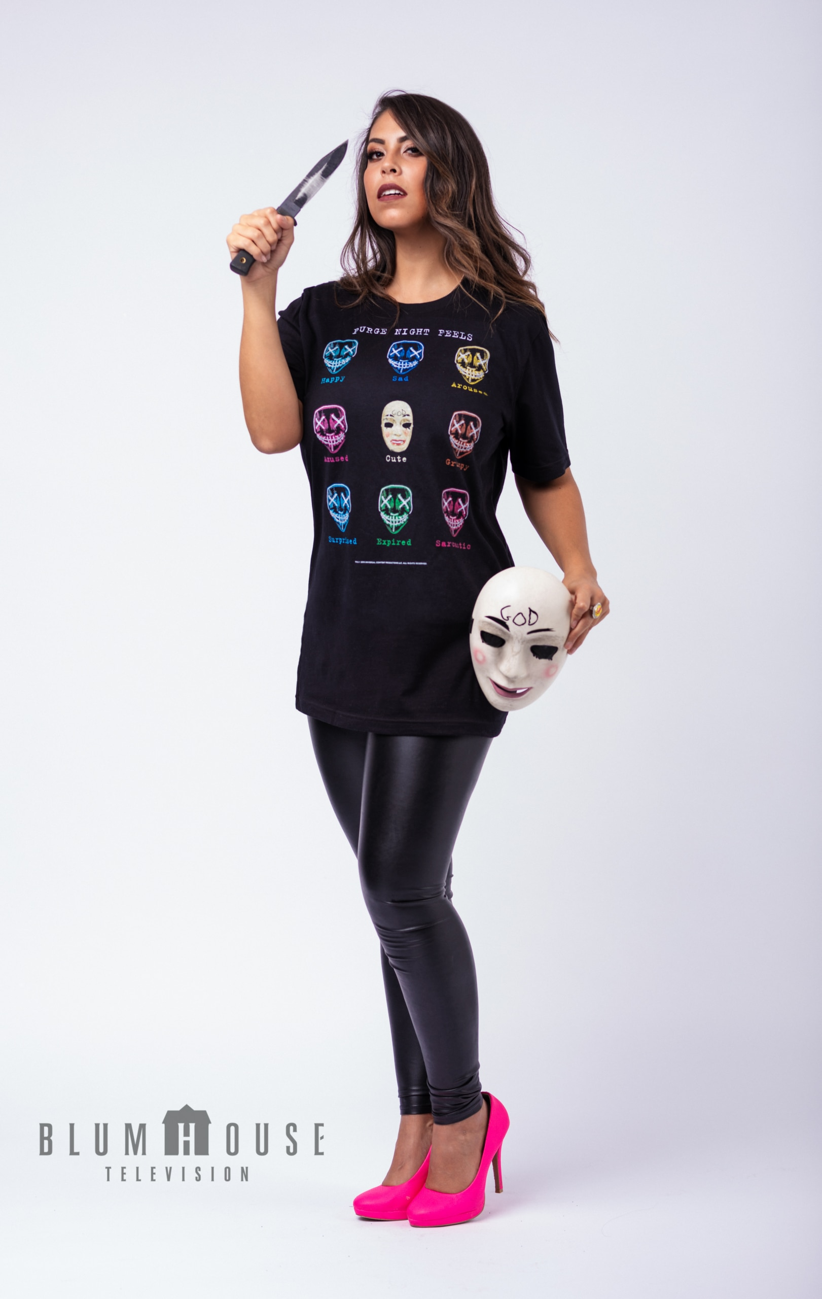 Gigi x Purge 1 scaled - Exclusive: Gigi Saul Guerrero & Blumhouse Partner on Exclusive Merch Inspired by THE PURGE