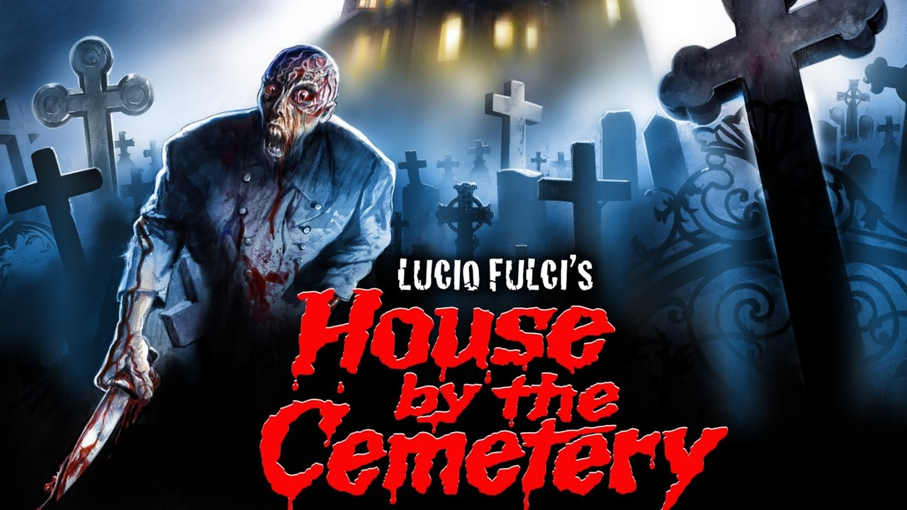 House by the Cemetery Banner - THE HOUSE BY THE CEMETARY 3-Disc Limited Edition/4K Restoration January 21st