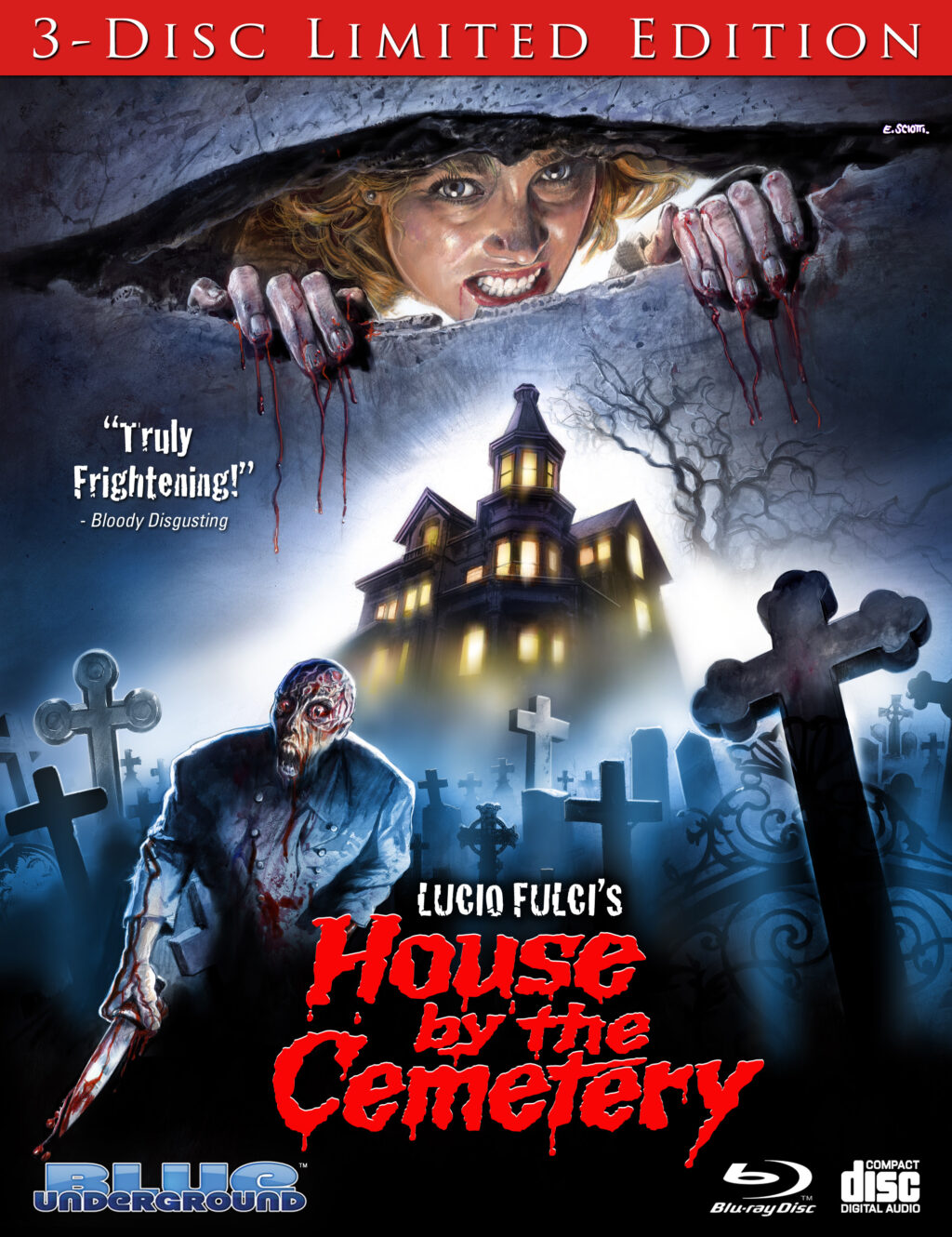 House by the Cemetery Blue Underground 1024x1330 - HOUSE BY THE CEMETERY Blu-ray Review - Fulci Gore And Lovecraftian Lore
