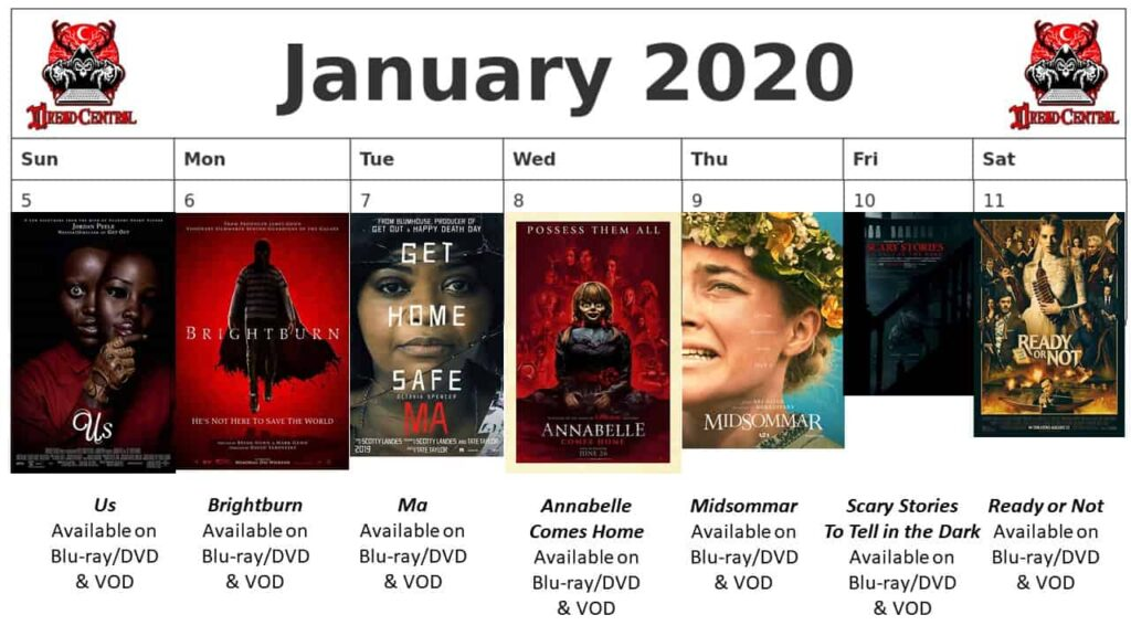 """January 2020 Week 2 1024x576 - We're Launching """"YEAR OF DREAD 2020"""": A 366-Day Horror Movie Challenge!"""