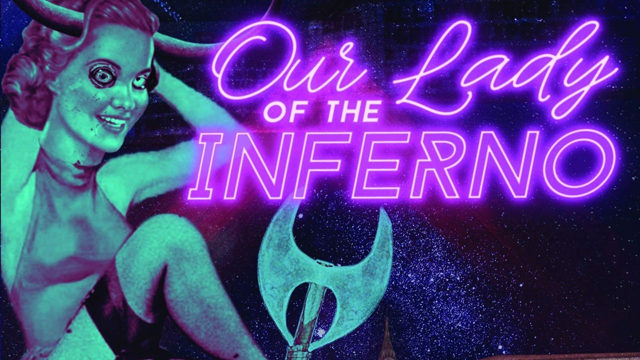 Our Lady of Inferno Banner - ARSIS's James Malone to Compose Soundtrack to FANGORIA's Audio Adaptation of OUR LADY OF THE INFERNO