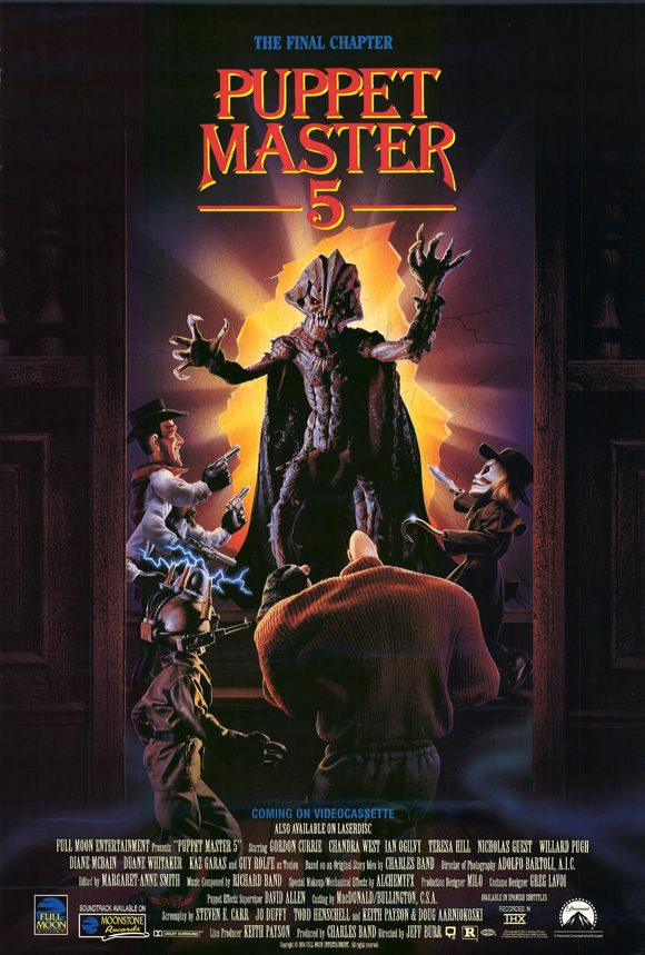 Puppet Master 5 - Release Schedule Announced for PUPPET MASTER Franchise Films Coming to Free DREAD AVOD App