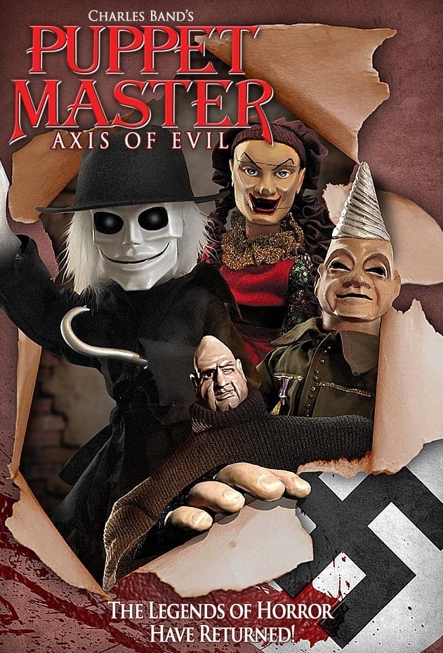 Puppet Master Axis of Evil - Release Schedule Announced for PUPPET MASTER Franchise Films Coming to Free DREAD AVOD App