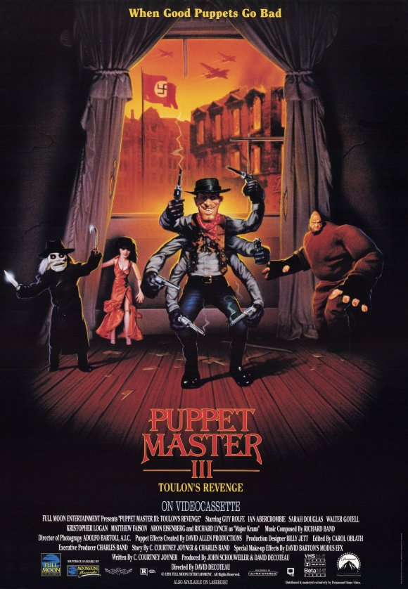 Puppet Master III - Release Schedule Announced for PUPPET MASTER Franchise Films Coming to Free DREAD AVOD App