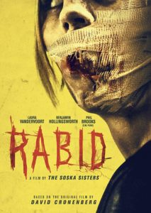 RABID poster 213x300 - Interview: Stephen Huszar on the Insanely Realistic Practical Effects in RABID and Working With The Soska Sisters