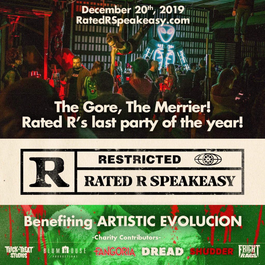 RatedRParty 1024x1024 - DREAD & FANGORIA Sponsor RATED R: A HORROR SPEAKEASY Holiday Event December 20th + Ticket Giveaway!