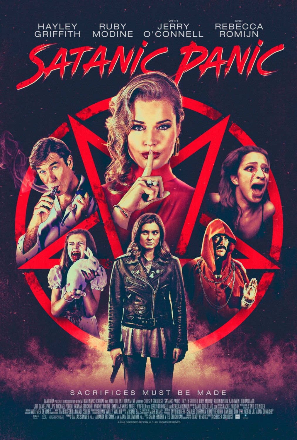 SATANIC PANIC poster 1 - Michelle Swope's Top 10 Horror Movies of 2019