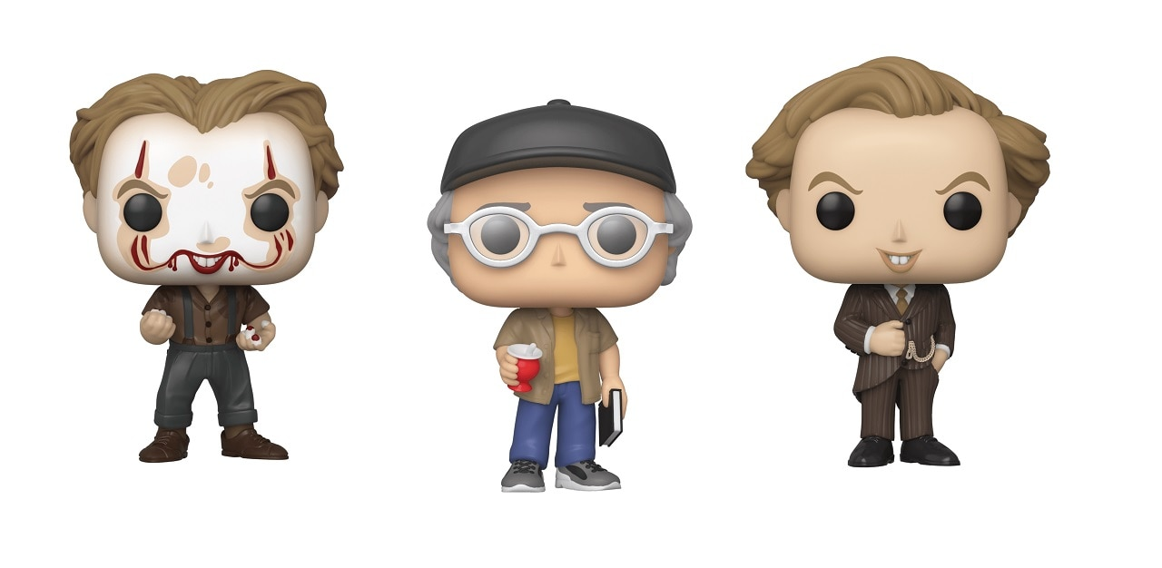 Stephen King Cameo POP HD - Funko IT 2 Figures: King's Cameo, Meltdown Pennywise & More