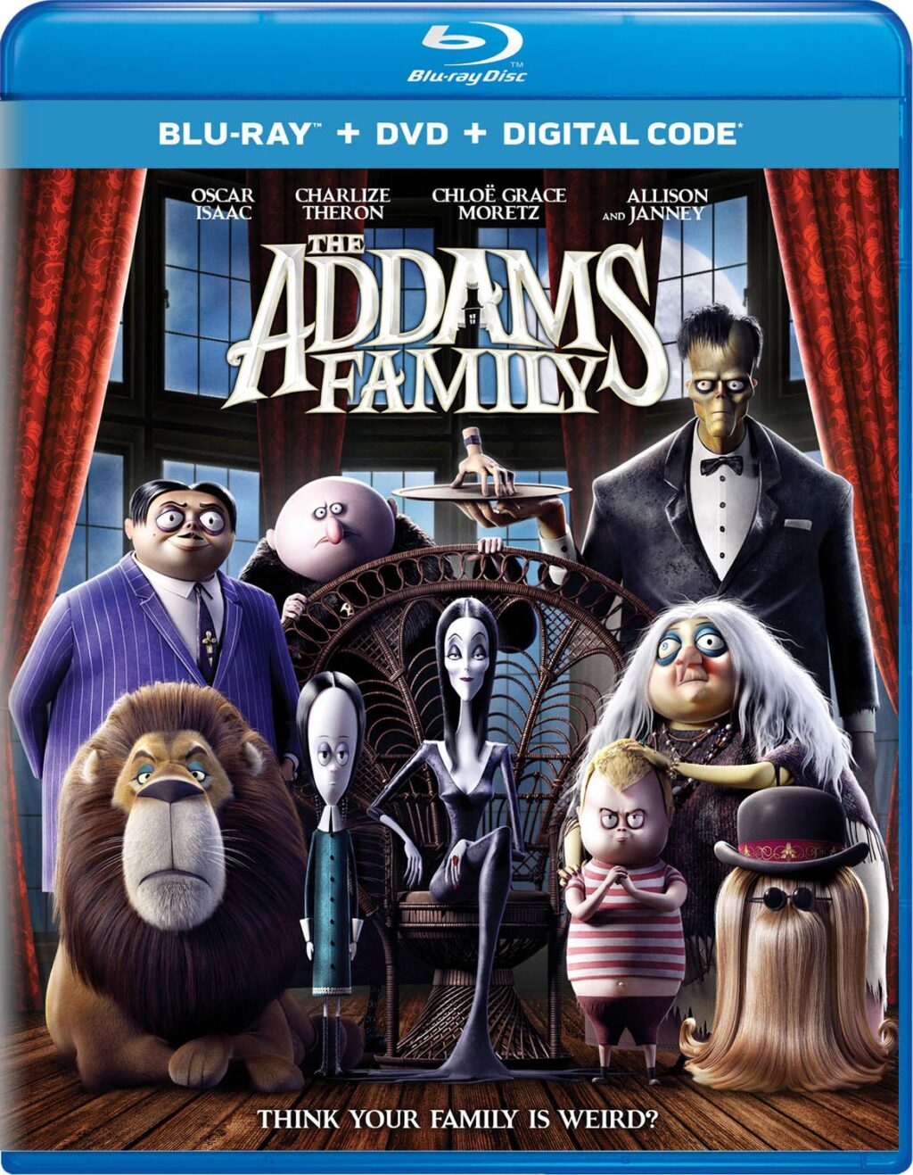 THE ADDAMS FAMILY Blu ray DC 1024x1317 - THE ADDAMS FAMILY Hits Blu-ray In January